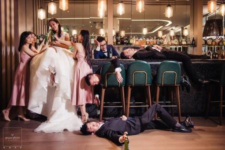 婚禮紀錄 | 美福飯店 l 醉後大丈夫