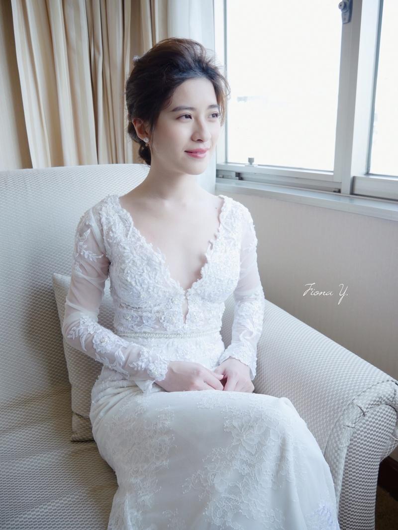 FionaYang Makeup & Hairstyle Studio美式婚禮造型