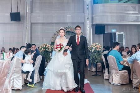 婚禮紀錄WEDDING | 台南-富霖海鮮餐廳華平館-富賞廳  | 幸運草攝影工坊