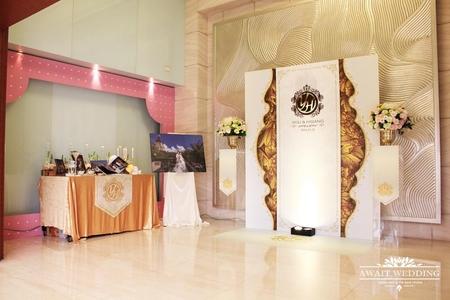 台中清新溫泉婚禮佈置