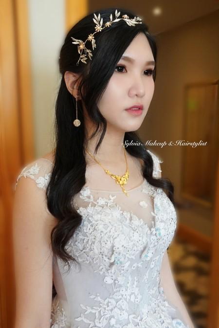 黑髮新娘-韓風浪漫公主頭