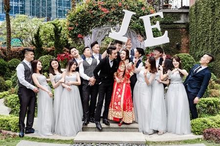 婚禮紀錄 l 早儀午宴 維多麗亞酒店