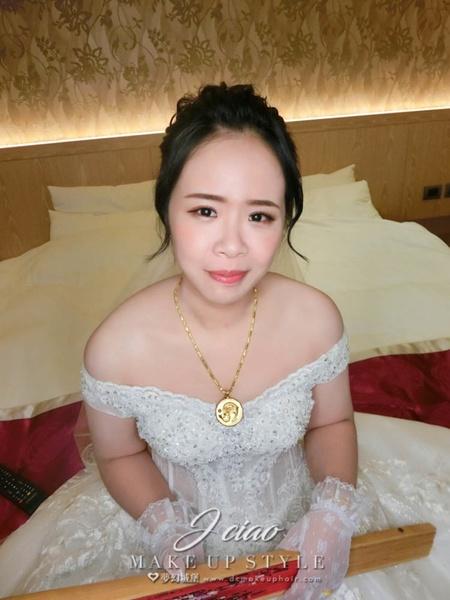 新秘婕喬-新娘婚宴造型