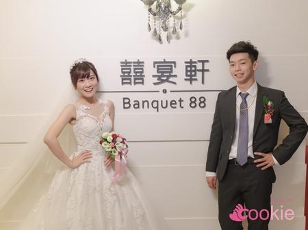 俞文 & 幼萱 婚禮記錄 @ 囍宴軒新板館