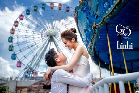 自主婚紗|遊樂園約會