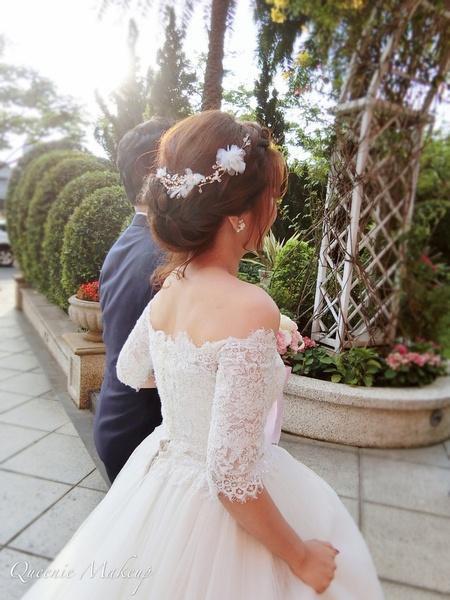 戶外證婚編髮仙仙造型