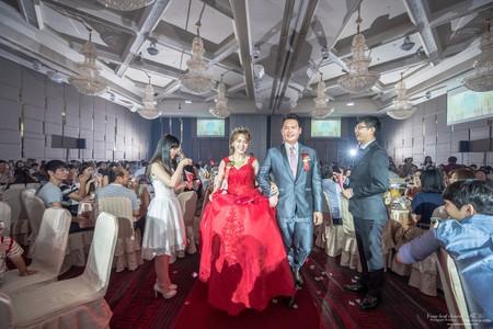 婚禮紀錄WEDDING | 台南南紡夢時代-雅悅會館 | 幸運草攝影工坊