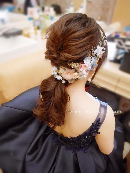 甜美花兒新娘