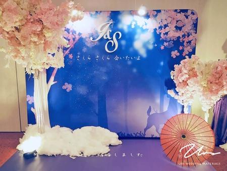 【櫻花下的約定】主題婚禮佈置