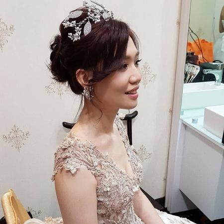 婚宴造型-嘉義小原餐廳-蘇蓉蓉新娘秘書