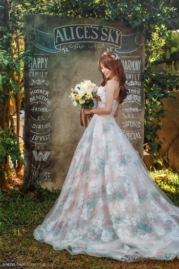 Nutshell wedding 諾許精緻禮服•手工婚紗