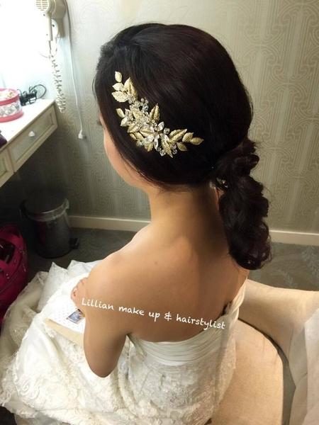 Bride~Annie 韓系馬尾vs歐美系自然挽髮