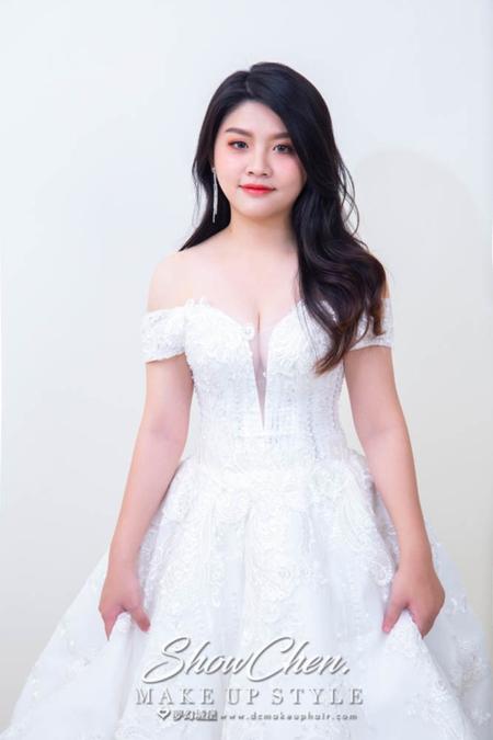 夢幻城堡彩妝造型團隊-新秘SHOW-新娘造型