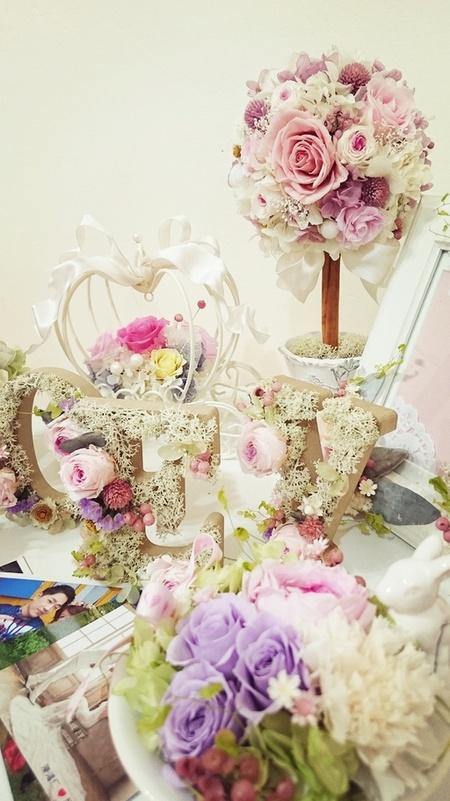 Vivi handmade 永久花系列婚禮佈置