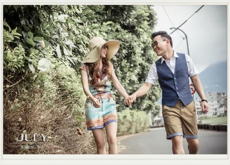 一德❤️Amber吳 | JUDY文創.婚禮 | 台北外拍景點 | 砲台公園 | 貴婦百貨 |
