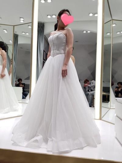 韓國藝匠婚紗禮服試穿  (嬌小女孩可參考)
