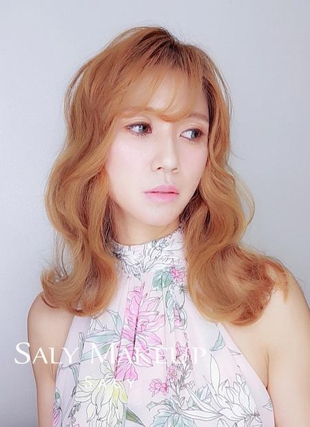 【Saly 造型總監】長髮新娘造型