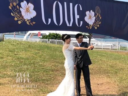 高雄市民集團婚禮 大型拍照區2018