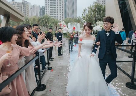 婚禮紀錄 | 高雄老新台菜戶外証婚午宴(大毛)