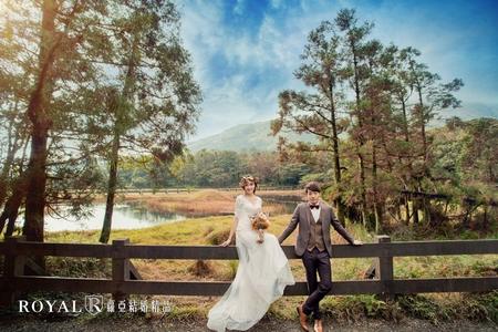 陽明山冷水坑生態池婚紗照