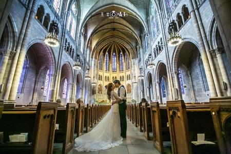 『2014 海外婚紗』紐約 Oversea in  brooklyn bridg