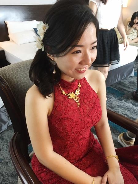 小齡結婚妝髮