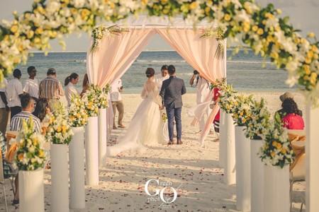 海外婚禮|馬爾地夫