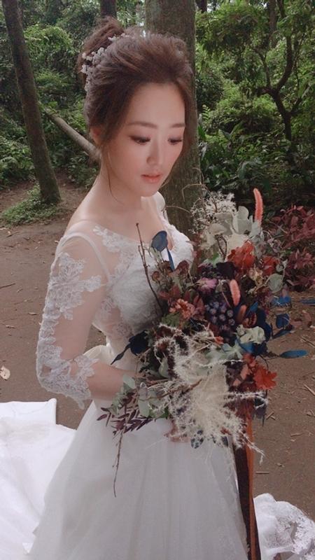 饅頭爸新秘團隊–芯媛❤仙氣飄飄婚紗拍照