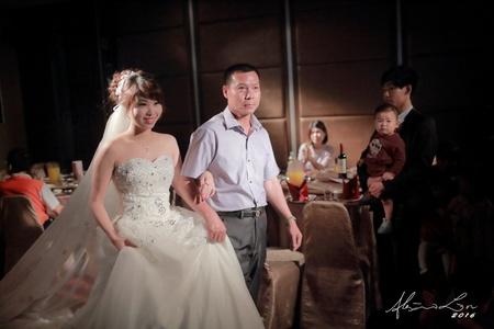 婚攝.婚禮紀錄 | Ho + Hsu | 新莊晶華亭