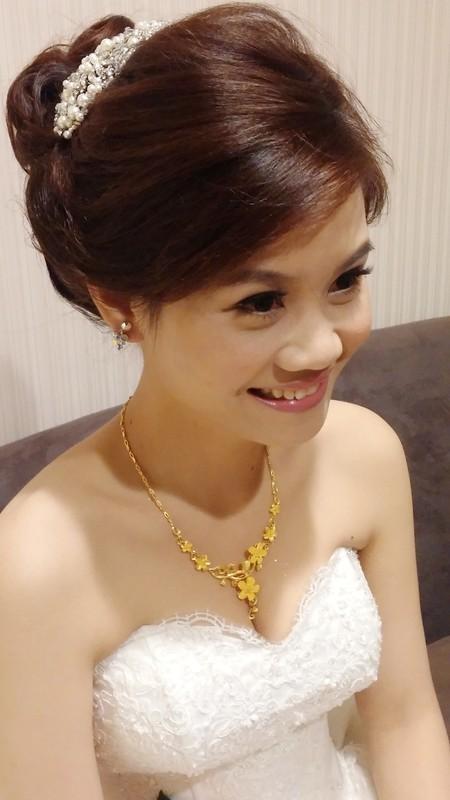 Zoe幸福新娘~禎(婚宴現場造型)
