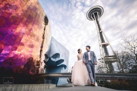 武少/ 海外婚紗/西雅圖 派克市場 華盛頓大學