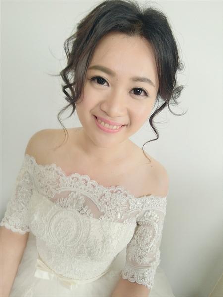 新娘秘書-潔安 自然歐美風 蕾絲 乾燥花 線條感