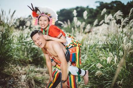 留下文化的美麗🌈-原住民婚紗照-伊頓自助婚紗