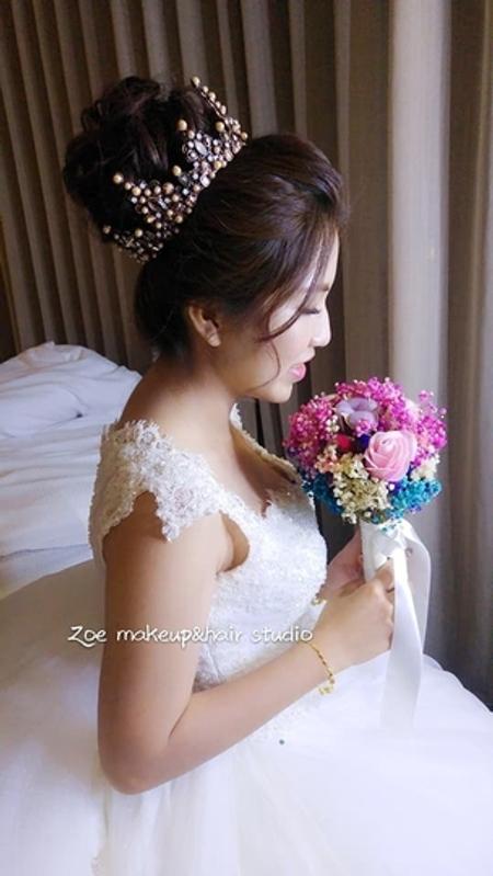 Zoe幸福新娘~萱(訂結婚宴造型)