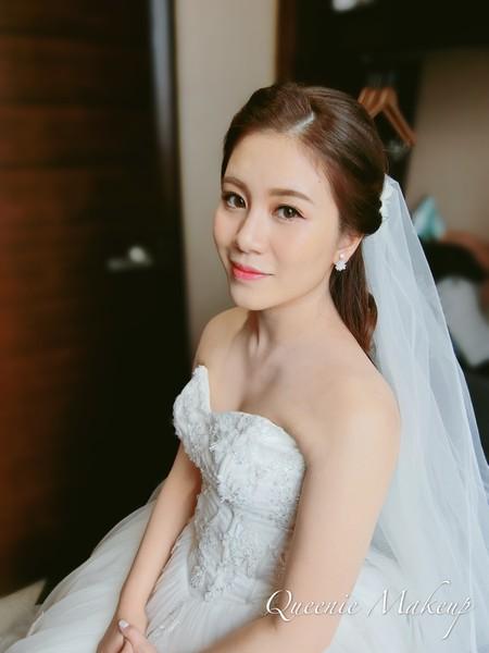 韓系優雅公主迎娶造型