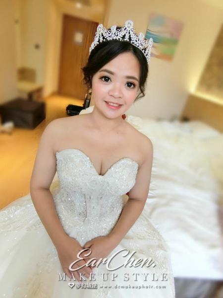 新秘嬿而-新娘婚宴造型