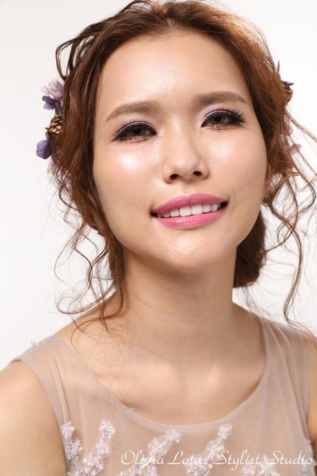 輕美式新娘風格|浪漫派髮型|彩妝質感小心機