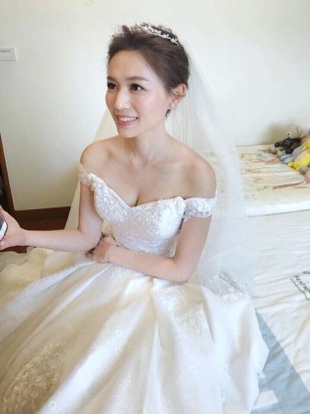 Tina結婚造型@維多麗亞酒店