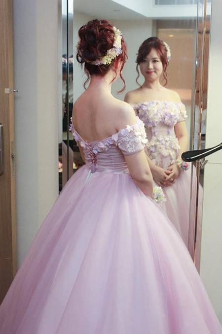 短髮新娘的花仙子系列日系空氣感造型