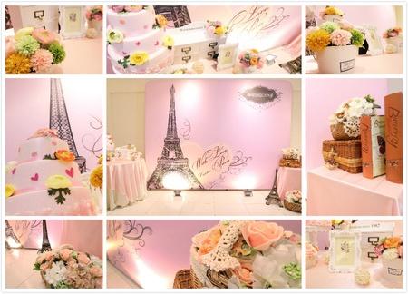 11號-背板佈置區~甜美巴黎