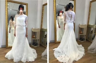 禮服分享-拍攝禮服-君璦婚紗