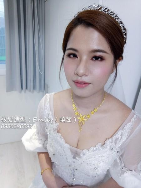 Bride佳蓉-迎娶三峽單妝~