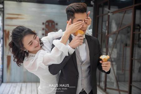 *精選* | 俏皮可愛婚紗 | HAUS HAUS