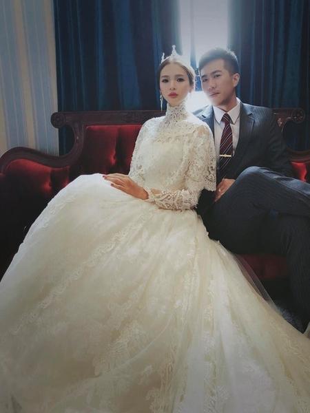 【吉吉藝術 GIGI CHIU】虹雰訂結婚午宴南投寶旺萊6號花園酒店