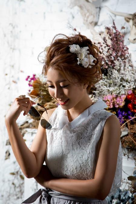 素人自主婚紗造型~網拍風格