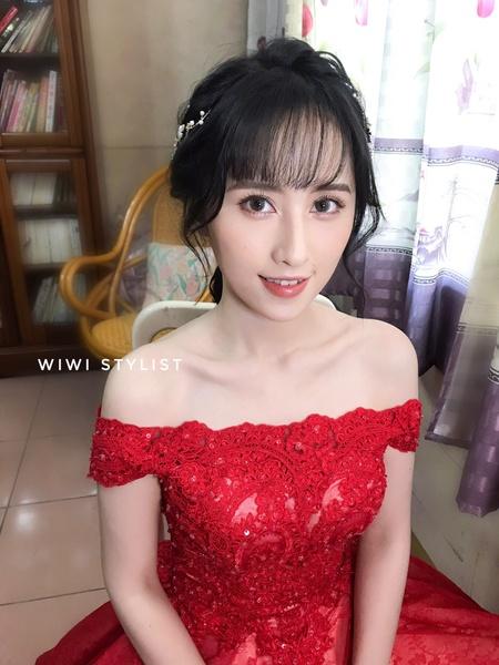 葳葳造型 wiwi stylist 台中新秘