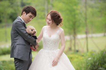 緣份讓我們相遇 戶外婚禮