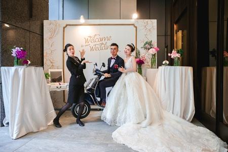 幻想情節成真的幸福婚禮 / 板橋凱撒飯店