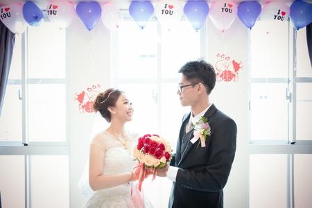 台南陳家宴席會館-健文❤曉琪結婚之囍