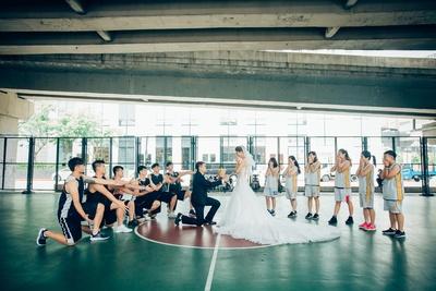 【籃球女孩出嫁去●J2 Wedding】